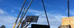 Cranes on Set