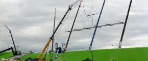 Godzilla Cranes